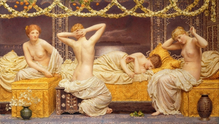 Древнеримские проститутки
